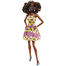 Buy Barbie Fashionistas Fancy Flowers Doll Online at johnlewis.com