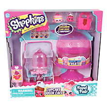 Buy Shopkins Cupcake Queen Cafe Playset Online at johnlewis.com