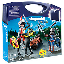 Buy Playmobil Knights Carrying Case Online at johnlewis.com