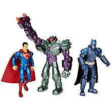 "Buy Batman vs Superman 6"" Basic Figure 3 Pack Online at johnlewis.com"