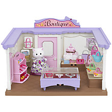 Buy Sylvanian Supermarket Boutique Playset Online at johnlewis.com