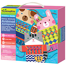 Buy Easy-Stitch Animal Jumpers Kit Online at johnlewis.com