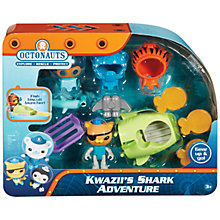 Buy Octonauts Kwazli Shark Adventure Online at johnlewis.com