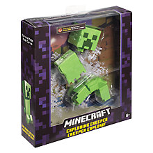 Buy Minecraft Basic Figurine, Assorted Online at johnlewis.com