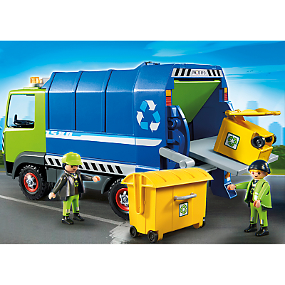 Click here for Playmobil City Recycling Truck