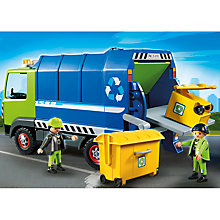 Buy Playmobil City Recycling Truck Online at johnlewis.com