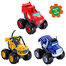 Buy Fisher-Price Blaze and the Monster Machines Slam and Go Vehicles, Assorted Online at johnlewis.com