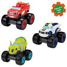 Buy Blaze and the Monster Machines Talking Vehicle, Assorted Online at johnlewis.com