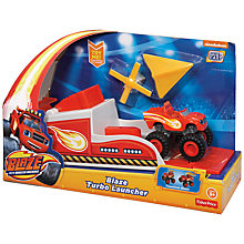 Buy Blaze and the Monster Machines Blaze Turbo Launcher Online at johnlewis.com