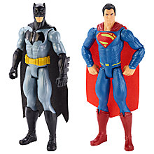 Buy Batman v Superman 12-Inches Tall Action Figure 2-Pack Online at johnlewis.com
