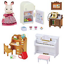 Buy Sylvanian Families Classic Furniture Set Online at johnlewis.com