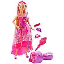 Buy Barbie Princess Twist N Style Doll Online at johnlewis.com