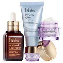 Buy Estée Lauder Advanced Night Repair / Advanced Time Zone Skincare Gift Set Online at johnlewis.com