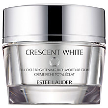 Buy Estée Lauder Crescent White Full Cycle Brightening Rich Moisture Creme, 50ml Online at johnlewis.com