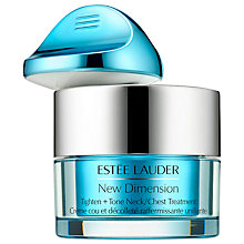 Buy Estée Lauder New Dimension Tighten & Tone Neck / Chest Treatment Online at johnlewis.com