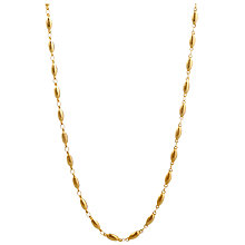 Buy Mirabelle Long Pepin Chain Necklace, Gold Online at johnlewis.com