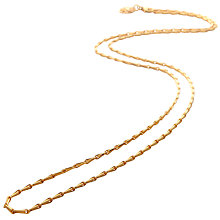 Buy Mirabelle Mini Torsade Chain Necklace, Gold Online at johnlewis.com