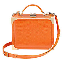 Buy Aspinal of London Mini Leather Trunk Online at johnlewis.com