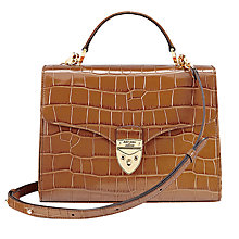 Buy Aspinal of London Mayfair Leather Across Body Bag Online at johnlewis.com