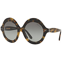Buy Ralph Lauren RL8140 Round Gradient Sunglasses Online at johnlewis.com