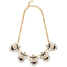 Buy Adele Marie Crystal Bead Collar Necklace, Multi Online at johnlewis.com