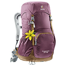 Buy Deuter Zugsplitza 22 Backpack, Purple Online at johnlewis.com