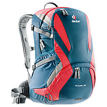 Buy Deuter Futura 22 Backpack, Navy/Red Online at johnlewis.com