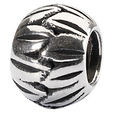 Buy Trollbeads Sterling Silver Chinese Fan Bead Charm, Silver Online at johnlewis.com