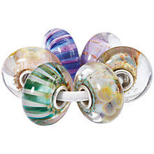 Buy Trollbeads Glass Bead Charm Set, Multi Online at johnlewis.com