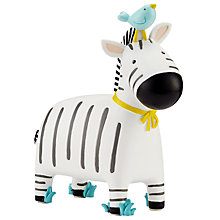 Buy John Lewis Zebra Money Bank, Multi Online at johnlewis.com