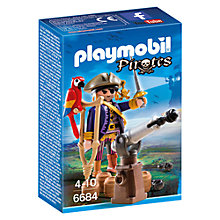 Buy Playmobil Pirates Captain Online at johnlewis.com