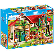 Buy Playmobil Country Large Farm Online at johnlewis.com