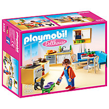 Buy Playmobil Dollhouse Kitchenette Online at johnlewis.com