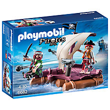 Buy Playmobil Pirates Raft Online at johnlewis.com
