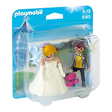 Buy Playmobil City Life Bridal Couple Duo Pack Online at johnlewis.com