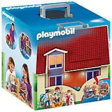 Buy Playmobil Take Along Doll House Online at johnlewis.com