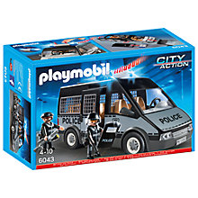 Buy Playmobil City Action Police Van Online at johnlewis.com