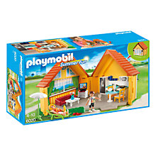 Buy Playmobil Summer Fun Country House Online at johnlewis.com