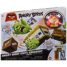 Buy Angry Birds Vinyl Knockout Playset Online at johnlewis.com