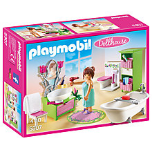 Buy Playmobil Dollhouse Vintage Bathroom Online at johnlewis.com