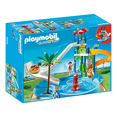 Click here for Playmobil Summer Fun Water Park With Slide