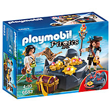 Buy Playmobil Pirate Treasure Hideout Online at johnlewis.com