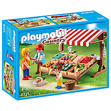 Buy Playmobil Country Farmer's Market Online at johnlewis.com