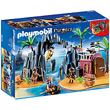 Buy Playmobil Pirates Treasure Island Online at johnlewis.com