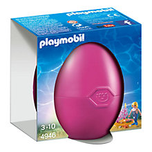 Buy Playmobil Gift Egg Mermaid with Seahorses Online at johnlewis.com