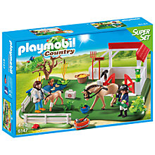 Buy Playmobil Country Horse Paddock Superset Online at johnlewis.com