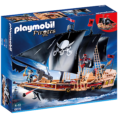 Click here for Playmobil Pirates Raiders' Ship