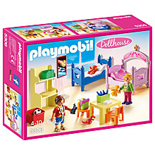 Buy Playmobil Dollhouse Children's Room Online at johnlewis.com