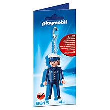 Buy Playmobil City Action Policeman Keyring Online at johnlewis.com
