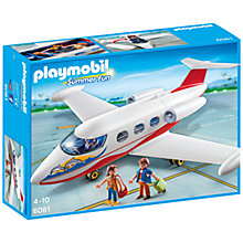 Buy Playmobil Summer Fun Jet Online at johnlewis.com